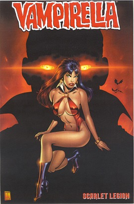 Vampirella y Drácula.