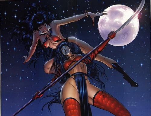 Vampirella vs Shi