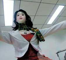 Primer robot humanoide chino.