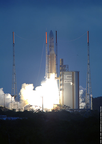 Despegue Ariane 5.