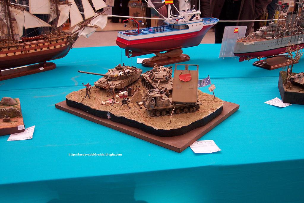 Diorama militar
